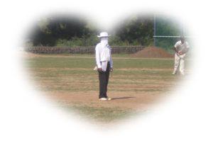 Domestic Cricket - An Umpire