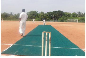 Tamilselvan bowled a stunner