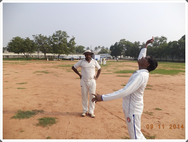 TTRC-CCC Toss for the choice of innings