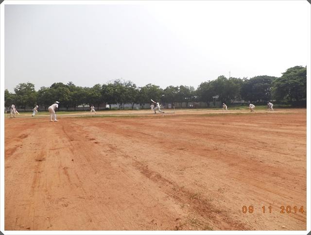 TTRC-CCC Batsman in action - Drive