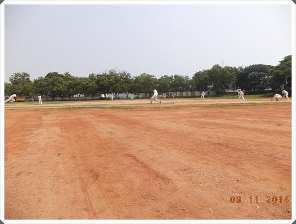 TTRC-CCC Batsman during a shot