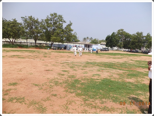TTRC-CCC Batsmen received a warm welcome from their teammates