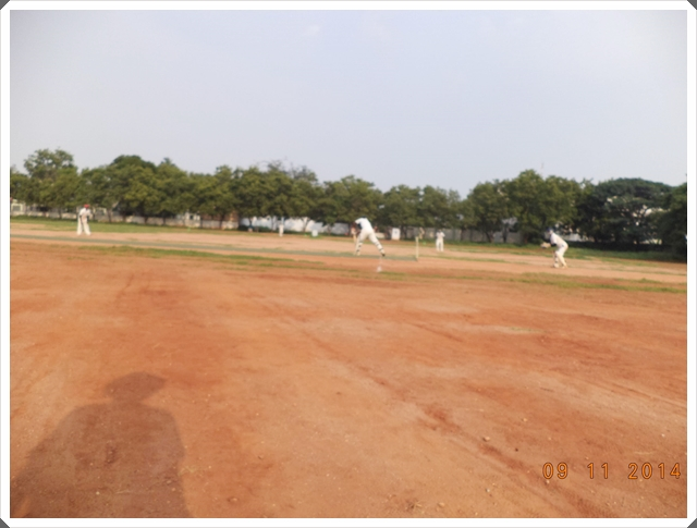 TTRC-CCC Batsman defending
