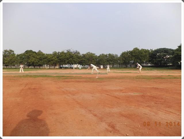 TTRC-CCC Batsman in action