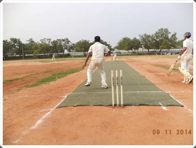 TTRC-CCC Bowler in action