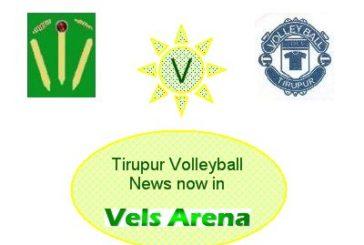 Thanks to Tirupur District Volleyball Association