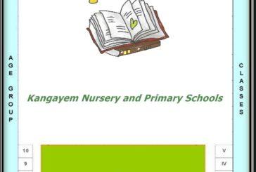Nursery and Primary Schools – Kangayem