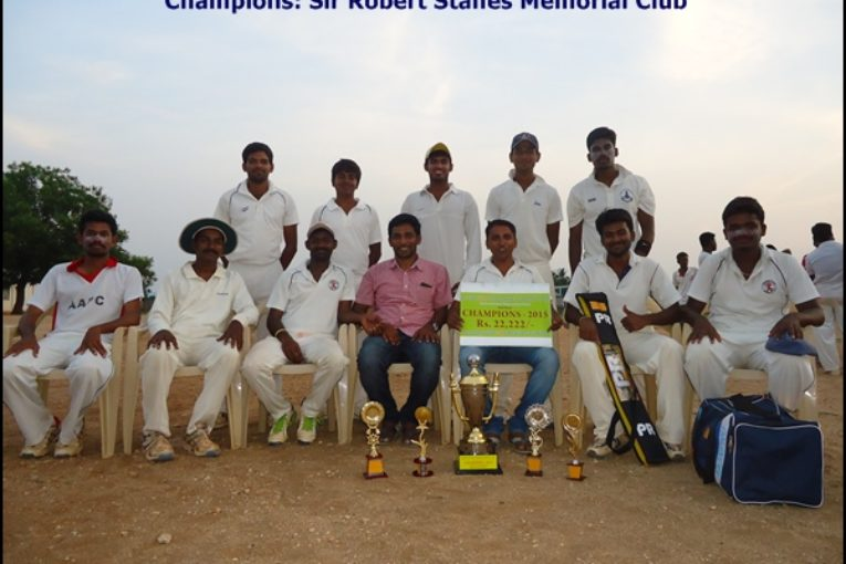 Champions: Sir Robert Stanes Memorial Club