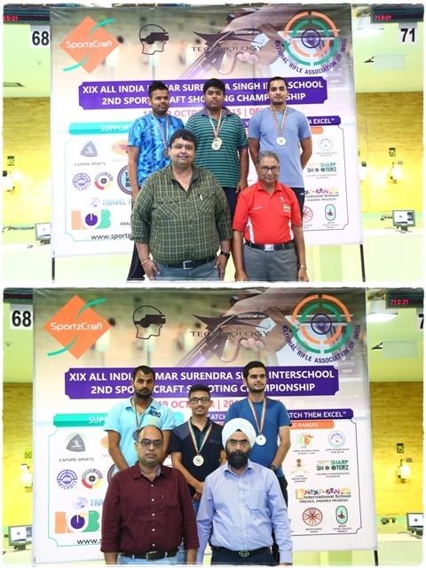 Winners of Shooting Championship - 2015
