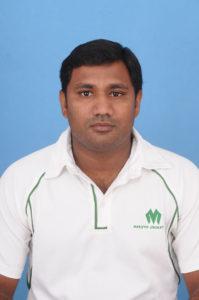 M Senthil, Maruthi Cricket Club