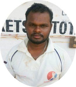 Player, Sir Robert Stanes Memorial Cricket Club