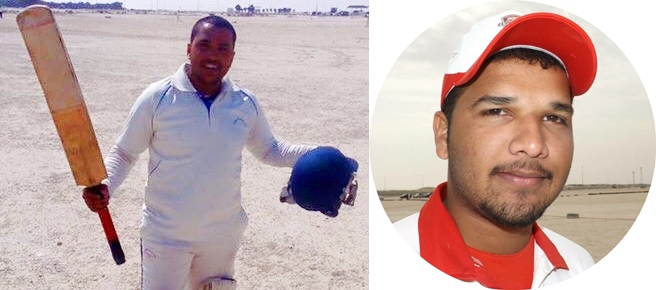Mir Obaid and Sarath hit tons