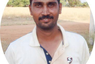 Nagaraj starred for MSM Cricket Club