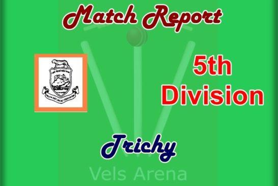 XI Diamonds and Srinivasa Nagar won