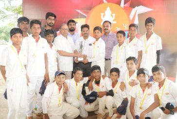 Sri Ramakrishna M.H.S.S clinched LVB T20 Trophy