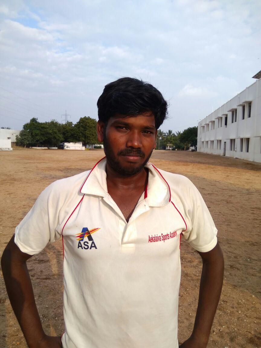 Arun Kumar hit a quick fire ton
