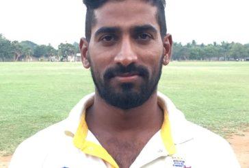 Veeramani hit an unbeaten ton for Kovai Knights