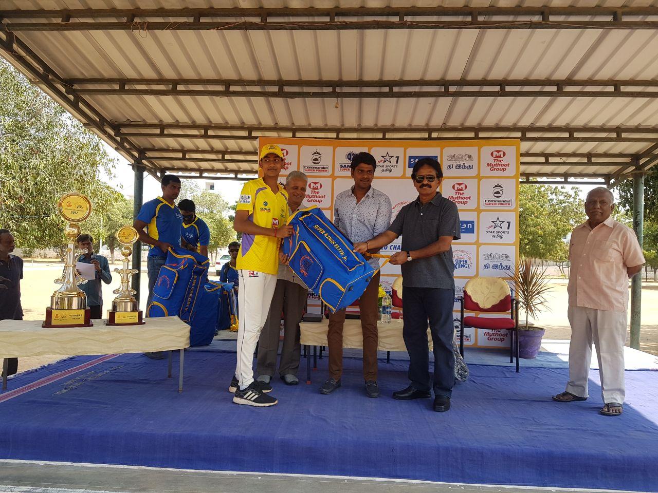 Best Batsman: L Gopi Chand, TEA Public School