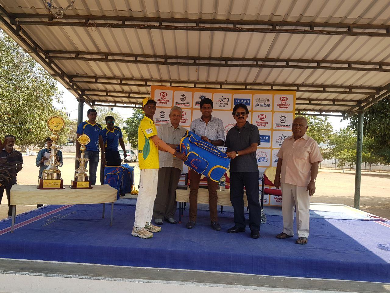 Best Bowler: T Prakash, KSC Boys GHSS