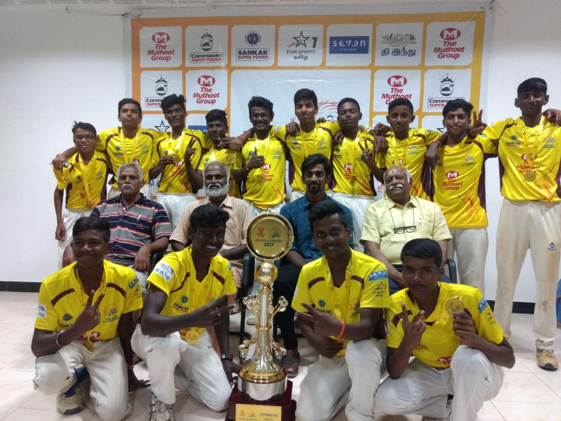 Champions, JSK 2017: Sri Rangam Boys HSS, Trichy