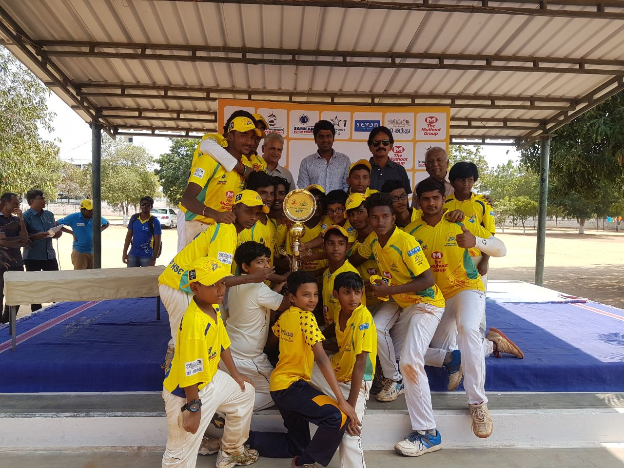 Winners JSK 2017 - KSC Boys GHSS