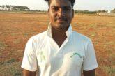Vinoth Kumar hit ton for GCC