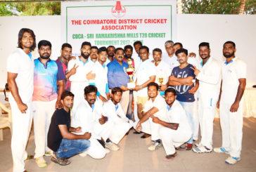 Cosmo Village SA clinched Sri Ramakrishna Trophy 2017-18