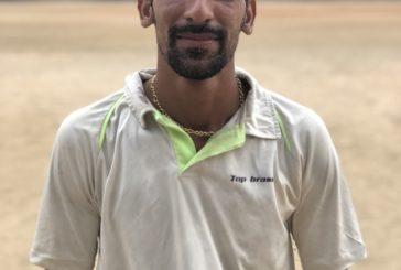 Nivas Ali Khan hit century