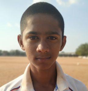 D. Santhosh Kumar, DCA of Tirupur U19