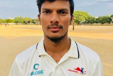 Suresh Kumar hit an unbeaten ton