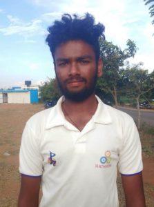 R Mowliraj, Rathinam College CC