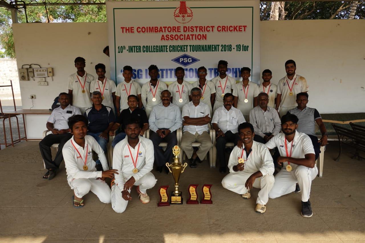 Sri Ramakrishna CAS, Winners, PSG Institutions Trophy 201819