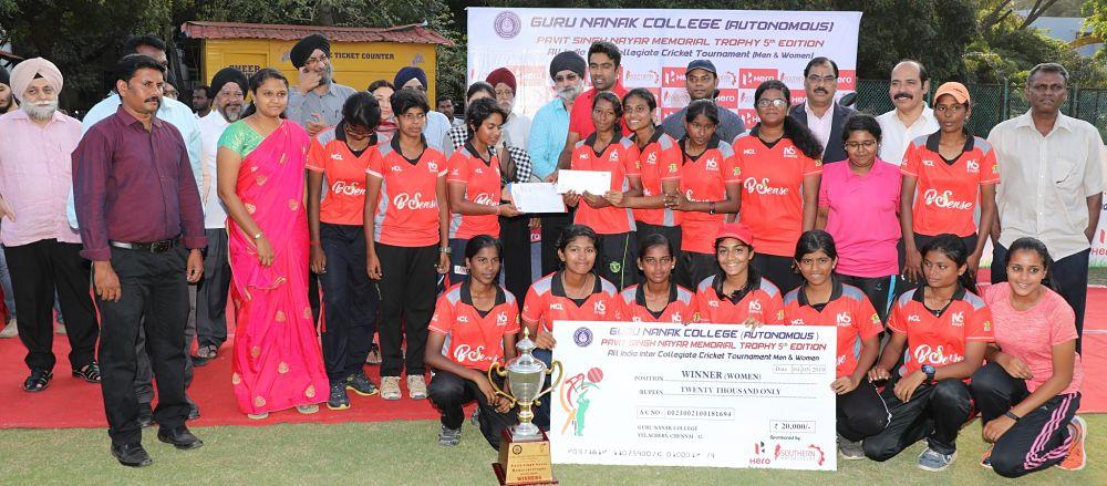 Winners Up (Women): Women's Christian College