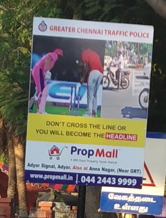 Greater Chennai Traffic Police Headline