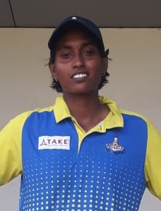 S Anusha, Tamilnadu Under 23